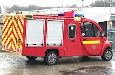 Image of the children's fire engine